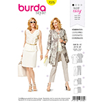 BURDA - 7075 Ladies Coordinates