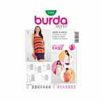 BURDA - 7104 Ladies Top/Skirt