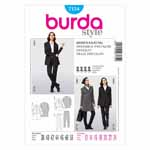 BURDA - 7134 Ladies Pantsuit