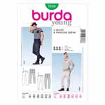 BURDA - 7138 Mens Pants