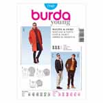 BURDA - 7142 Mens Coat/Dress