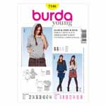 BURDA - 7148 Ladies Coordinates