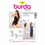 BURDA - 7186 Ladies Lingerie