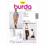 BURDA - 7290 Mens Pants