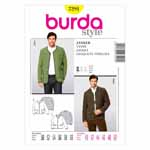 BURDA - 7291 Mens Jacket