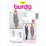BURDA - 7320 Ladies Dress