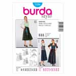 BURDA - 7326 Costume Ladies Folklore