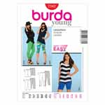 BURDA - 7382 Ladies Leggings