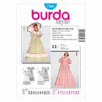 BURDA - 7466 Ladies Dress