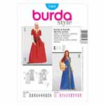 BURDA - 7468 Costume Ladies-Historical