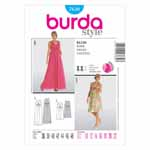 BURDA - 7630 Ladies Dress
