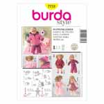 BURDA - 7753 Accessory Doll Clothes