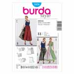 BURDA - 7870 Costume Ladies Folklore