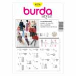 BURDA - 8576 Accessory Doll Clothes