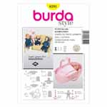 BURDA - 8591 Accessory Doll Clothes