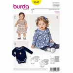Bodysuit to fasten at the shoulder and crotch, an indispensable partner for active boys. Girls will love the perfect fit of the dress variation with a gathered skirt caught in at the panel seam of the bodysuit.