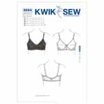 Designed for Nylon tricot or lace & nylon sheer and Power Net. Bra cups can be made from Nylon tricot or lace and Nylon sheer. Bra band is from Power Net. Bra has elastic at all outside edges and adjustable shoulder straps made from Nylon tricot.