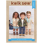 Nine perfect pieces come together as an on-trend casual wardrobe for 18″ unisex dolls. Achieve an endless array of looks with jeans, skirts, slim blazer, fun puffer vest and knit top; accessorize with infinity scarf and messenger bag for the finishing touch.