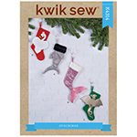 Novelty fabrics enhance these magical stockings for all ages. They can also be used for fun gift giving. Views A and B are 16″ H (41cm). Views C and D are 14″ H (36cm). FABRICS:  1A, 1B, 1C, 1D: Satin/Sateen, Also 1A: Microfiber, Novelty Metallic. Also 1B: Novelty Sequin. Also 1C, 1D: Velveteen, Twill, Fine Wale Corduroy. 4B: Lame, Foil Dot. 2C, Applique C: Lame, Synthetic Leather, Felt. 2D, Applique D: Short Pile Fleece, Felt. Also Appliques: Felt. 3A, 3B, 3C, 3D: Cotton/Cotton Types. Interfacing/Interfacing 1: Flannel. Interfacing 2: Fusible Craft.  Note: Fabric requirement allows for nap, one-way design or shading. Extra fabric may be needed to match design or for shrinkage.