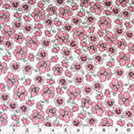 Fabric Creations 100% cotton comes in a variety of prints and colours. Fabric measures approximately 107 cm (42″) wide and comes on a 7.3m (8 yard) bolt.