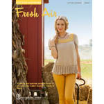 Fifteen fresh knit and crochet designs for women and girls in the Cotton Supreme family of yarns.