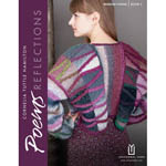 Ten colorful knits designed by Cornelia Tuttle Hamilton especially for the Poems family of yarns.