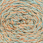 Clean Cotton's recycled eco-fiber blend, woven into even more possibilities. A thick and fun yarn suitable for home decor, accessories, and more! 120m (131yds) and 75g (2.65oz). 85% Recycled Cotton, 15% Recycled Polyester. Machine wash - warm, do not bleach, tumble dry - low heat, iron - low heat, dryclean - any solvent except trichloroethylene. 6 balls/bag. The recommended knitting needle is 10-12.75mm (US size 15-17) = 1.5-2 sts x 2.5-3 rows = 2.5cm (1″) in ST st. The recommended crochet hook is 10mm (US size N) = 1.25-1.75 sc x 1.5-2 rows = 2.5cm (1″). Remember to ALWAYS check tension/gauge before beginning your project.