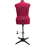 Produce a professional look every time ! Durable construction and lightweight. 1-piece stand for easy assembly and better stability with simple and accurate size adjustments including adjustable height. 100% nylon foam backed covering.