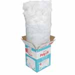 Crafters have made Poly-Fil® the best selling polyester fiberfill in America. A unique process explodes the special blend of 100% polyester fibers creating an extraordinary resilience that maintains its loft through countless launderings. Use for all types of craft and home décor projects. Smooth consistency. Will not bunch. Non-allergenic. Care Instructions: Machine wash with warm water on gentle cycle. Air dry or dry on low heat setting. Fiber may shift during laundering. Gently massage the project with fingertips to move the fiber back into place.