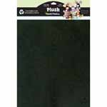 PlushFelt<sup>TM</sup> is a soft, thick and furry fabric, perfect for apparel, stuffed animals, appliqués and costumes. Cuts cleanly. Sews easily. Machine washable and dryable. Wide range of fade resistant colours. Ideal material for a wide variety of crafts. 45.7 x 57cm (18&Prime; x 22<sup>1</sup>&frasl;<sub>2</sub>&Prime;)