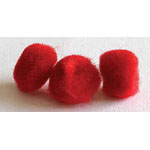 "Includes 40 pieces of 5mm (1/4"") pompoms."