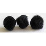 Includes 8 pieces of 25mm (1″) pompoms.