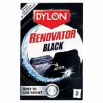 Restore faded black coloured clothes to as good as new in just one wash! Great for jeans, shirts and blouses. Safe to use in washing machines and will not leave any traces of colour on subsequent washes. Includes 2 - 50g sachets.