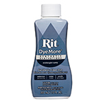 Use Rit DyeMore Dye on 100% polyester, polyester / cotton blends, acrylic, acetate, nylon and even some plastics. One bottle will dye one pound of dry polyester fabric. If dyeing acetate, acrylic or nylon, one bottle will dye two pounds of dry fabric. For 100 years, customers have relied on Rit to rejuvenate old garments, change the color of their clothing and accessories, coordinate home decor, hide laundry accidents and more. Create something custom and unique with an ombre, dip-dyed, shibori or tie-dye pattern. Important: due to the complexity of dyeing synthetic fabrics, you must use this dye in a stainless steel pot on your stove top to maintain a high water temperature throughout the duration of dyeing. Cannot be used in a washing machine.