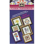 A four-color booklet featuring 6 beautiful cross-stitch designs that combine DMC Cotton Embroidery Floss and DMC Color Variations. Each booklet also contains easy-to-follow instructions as well as finishing ideas for each design. 14 pages. DMC Art. #417.
