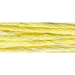 A multi-coloured thread with an over-dyed effect made from 100% long staple Egyptian Cotton and double mercerized to give it brilliant sheen. Comprised of 6 size 25 easily separated strands, allowing you to adjust the thickness of your stitching by using a different number of strands. The thread is 100% colorfast, fade resistant, and offers guaranteed colour consistency from one skein to another. Each skein has a blend of soft multi-colors that flow seamlessly into one another along the length of the thread. Made in France. Great for cross-stitch, all types of embroidery, needlepoint, smocking, scrapbooking and much more. DMC Art. 417F
