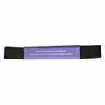 Black Non-Roll Elastic Hank can be used in a number of fabric creations or projects. 19mm x 2.1m.