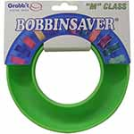 "A flexible plastic, circular channel that holds over 20, jumbo plastic or metal bobbins - 1"" or larger."