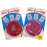 This limited edition value pack includes the most useful items needed in all sewing rooms: SCHMETZ home sewing needles and the ever popular Grabbit® Magnetic Pin Cushion. Includes Microtex 70/10 & 80/12, Quilting assorted sizes.