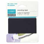 Multipurpose mending tape. 65% polyester • 35% cotton. Washable and dry-cleanable.