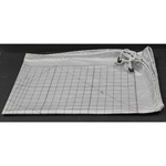 "For the Home Hobby Design Table (#3091070). Turn your table into a large scale ironing surface with the Ironing / Pressing Cover. This cover makes it much easier to iron large fabric items such as quilts, curtains, table cloths and much more! A grided surface helps you measure and cut without needing a separate measuring tool. Ironing cover will fit any 57"" x 34"" cutting table. It features 30º, 45º, 60º & 90º angles, as well as lines for many sizes of quilt squares."
