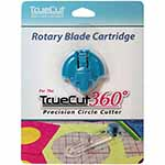 Perfect for use with the TrueCut 360º Circle Cutter. Includes one cartridge unit with blade.
