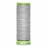 A strong, heavy polyester thread with a silk-like lustre which remains soft and supple. Ideal for bold decorative stitching, manually stitched button holes and button sewing. Best results are achieved with Gütermann top stitch thread in the sewing machine needle and Gütermann Sew-all thread in the bobbin. Light green spool. TKt No. 30, Tex: 100, Dtex: 1000, 3-ply. Suggested needle size: US 16/19 (100-120).