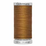 Gütermann 100% polyester jean thread is perfect for heavily stressed seams such as denim leisure wear. Use when stitching denim fabric for traditional jean seams or decorative stitching. Comes in a variety of colours appropriate for denim. Grey spool colour. TKt No. 75, Tex: 40, Dtex: 400, 2-ply. Suggested needle size: US 12/16 (80-100).
