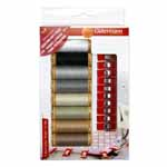 8 spools of Premium Mercerized Cotton Thread 100m (110 yds): great for piecing appliqué, bobbin fill or construction seams. 10 Clips: Wide opening to hold multiple layers of fabric.