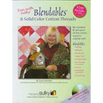 With the focus on Sulky Cotton Blendables and Sulky Solid Color Cottons which are exclusively sold to independent stores, this 104-page, full-color book is jam-packed full of ideas and techniques that will excite and motivate. AND… now there are a total of 126 magnificent Blendables in both 12 wt. and 30 wt.