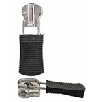 For medium weight, metal teeth zippers. Coordinates with zipper styles 1750 & 1753.