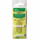 Easy to thread needles, 5 different styles. Can be used for for shear / light weight and coarse / heavy weight fabrics.
