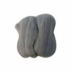 100% natural wool roving. Perfect for felting, making pom-poms, punching applique and other handicraft applications. Net weight: 20g (0.7 oz)