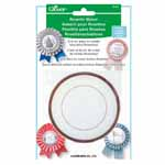 Make rosettes for any occasion in three simple steps. Package includes parts and template to create one rosette. Ribbon template is reusable, separate parts available to create more rosettes (#7884330). Templates are available in both small and large.